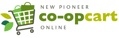 A theme logo of New Pioneer Food Co-op